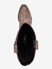 Tamaris - Woms Boots - lange laarzen - taupe - 3