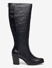 Tamaris - Woms Boots - lange laarzen - black uni - 1