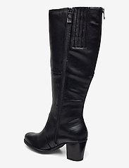 Tamaris - Woms Boots - lange laarzen - black uni - 2