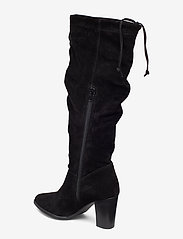 Tamaris - Boots - pitkävartiset saappaat - black - 2