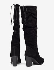 Tamaris - Boots - pitkävartiset saappaat - black - 4