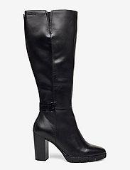 Tamaris - Woms Boots - höga stövlar - black/croco - 1