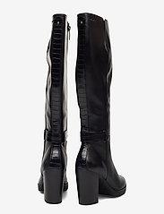 Tamaris - Woms Boots - lange laarzen - black/croco - 4