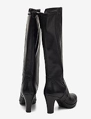 Tamaris - Woms Boots - höga stövlar - black - 5