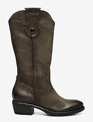 Tamaris - Woms Boots - lange laarzen - olive nubuc - 1