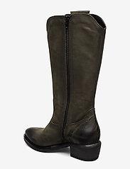 Tamaris - Woms Boots - lange laarzen - olive nubuc - 2