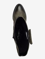 Tamaris - Woms Boots - lange laarzen - olive nubuc - 3