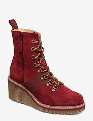 Tamaris - Boots - ankelstøvler med hæl - brick - 0