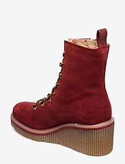 Tamaris - Boots - ankelstøvler med hæl - brick - 2