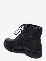 Tamaris - Woms Boots - platta ankelboots - black matt - 2