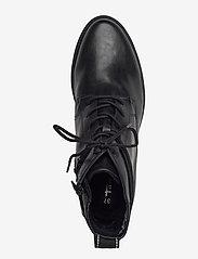 Tamaris - Woms Boots - platta ankelboots - black matt - 3