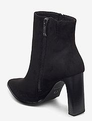 Tamaris - Woms Boots - enkellaarsjes met hak - black suede - 2