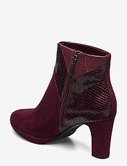 Tamaris - Boots - talon haut - merlot comb - 2