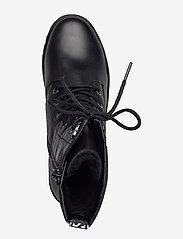 Tamaris - Woms Boots - platte enkellaarsjes - black - 3