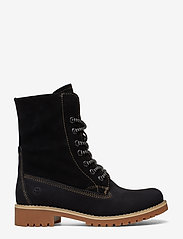 Tamaris - Boots - flache stiefeletten - black - 1