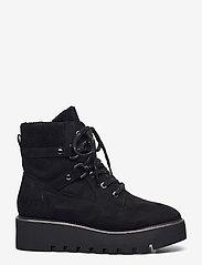Tamaris - Woms Boots - flade ankelstøvler - black - 0