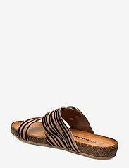 Tamaris - Woms Slides - flat sandals - nature comb - 2