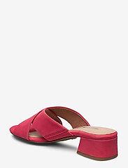 Tamaris - Woms Slides - høyhælte sandaler - coral - 2