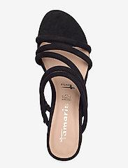 Tamaris - Woms Slides - heeled sandals - black - 3