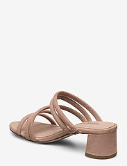 Tamaris - Woms Slides - høyhælte sandaler - old rose - 2