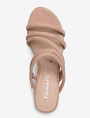Tamaris - Woms Slides - høyhælte sandaler - old rose - 3