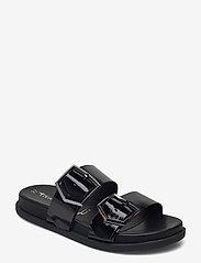 Woms Slides - BLACK PATENT