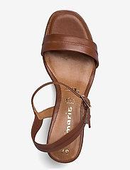 Tamaris - Woms Sandals - sandales à talons - cognac - 3