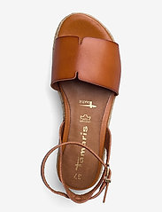 Tamaris - Woms Sandals - højhælede espadrillos - hazelnut - 3
