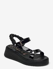 Tamaris - Woms Sandals - sandales - black patent - 0