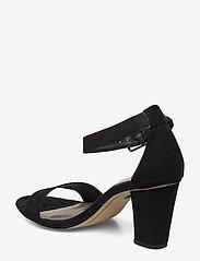 Tamaris - Woms Sandals - høyhælte sandaler - black suede - 2