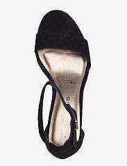 Tamaris - Woms Sandals - høyhælte sandaler - black suede - 3
