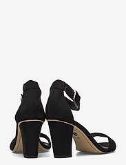 Tamaris - Woms Sandals - høyhælte sandaler - black suede - 4