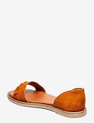 Tamaris - Woms Sandals - flate sandaler - cognac - 2