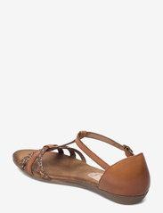 Tamaris - Woms Sandals - zempapēžu sandales - nut comb - 2