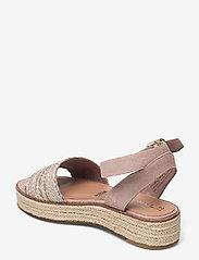 Tamaris - Woms Sandals - flache espadrilles - old rose - 2