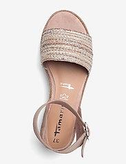 Tamaris - Woms Sandals - flache espadrilles - old rose - 3
