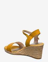 Tamaris - Woms Sandals - heeled espadrilles - mustard - 2