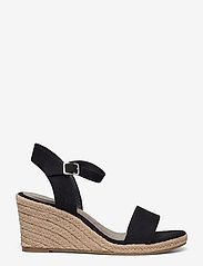 Tamaris - Woms Sandals - espadrilles mit absatz - black - 1