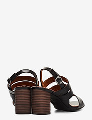 Tamaris - Woms Sandals - højhælede sandaler - blk lea/snake - 4