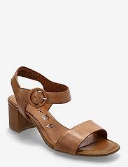 Woms Sandals - COGNAC LEATHER