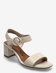 Woms Sandals - CREAM LEATHER