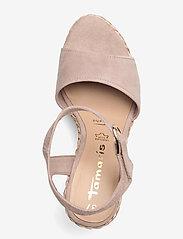 Tamaris - Woms Sandals - højhælede espadrillos - old rose - 3
