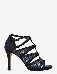 Tamaris - Woms Sandals - heeled sandals - navy raffia - 1