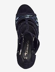 Tamaris - Woms Sandals - heeled sandals - navy raffia - 3