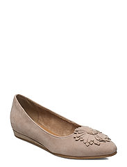 Woms Ballerina - TAUPE