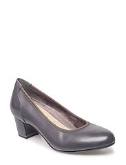Woms Court Shoe - GREY