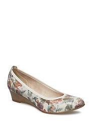 Woms Court Shoe - FLOWER COMB