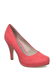 Woms Court Shoe - CORAL
