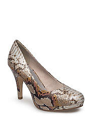 Woms Court Shoe - MULTICOL.SNAKE