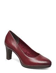 Woms Court Shoe - BORDEAUX